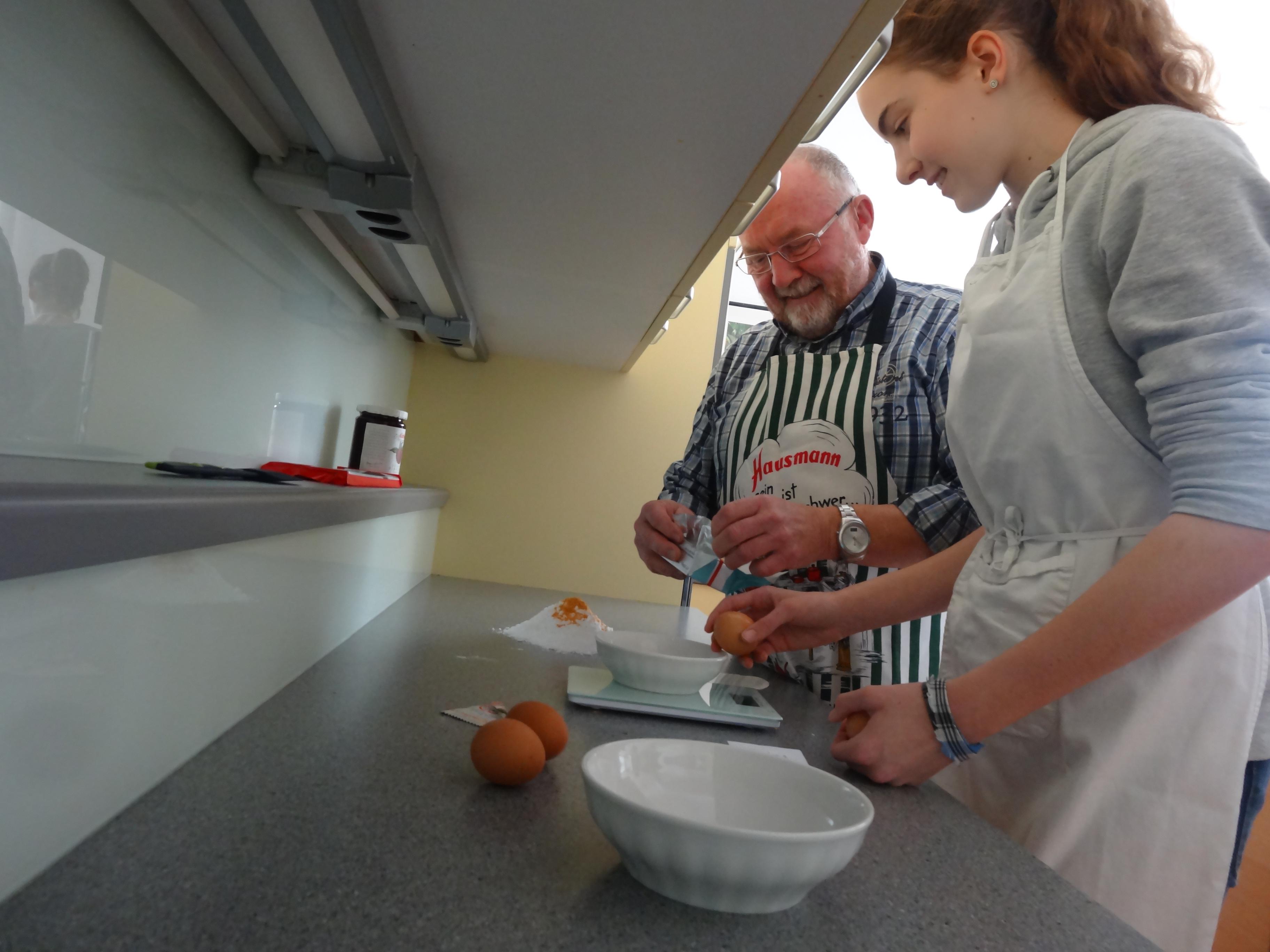 Ardagger lebensmittel im wandel sch lerinnen lernten for Kochen passieren